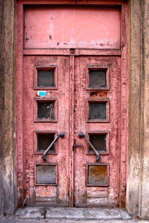 Old door in Riga