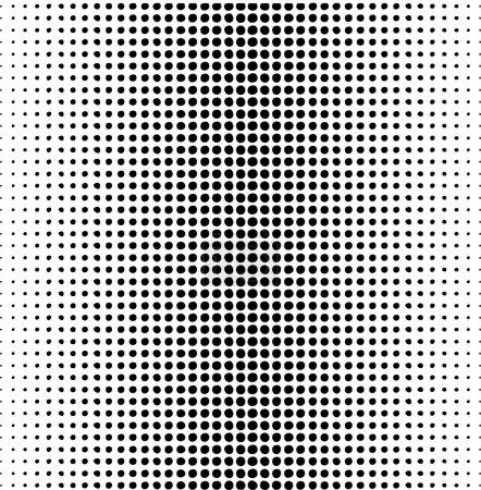 Foto de Patrón de puntos Vector sobre un blanco - Imagen libre de derechos