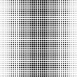 Vector dots pattern on a white