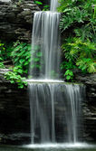 Waterfall is beautiful