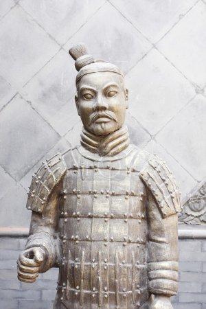 Xian China: Terracotta Warrior Statue (A