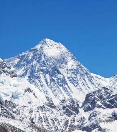 Mount peak Everest...