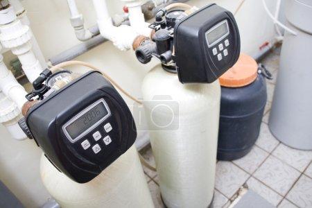 Photo pour Système de filtration de l'eau - image libre de droit