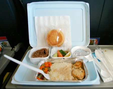 Classic airplane food