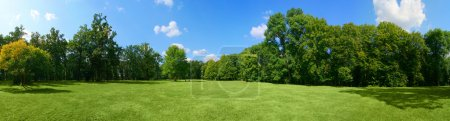 Photo for Panorama of big city park - Royalty Free Image