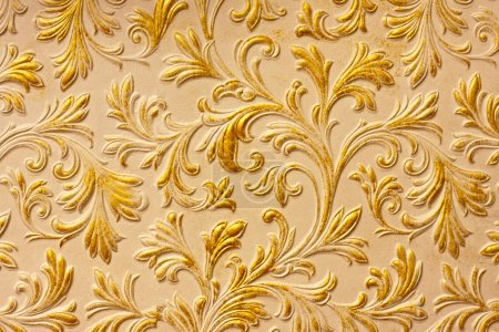 Vintage gold surface