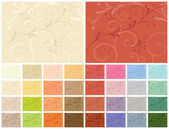 Abstract backgrounds 32 color variations