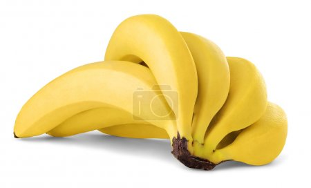 Photo for Bunc of bananas isolated on white - Royalty Free Image