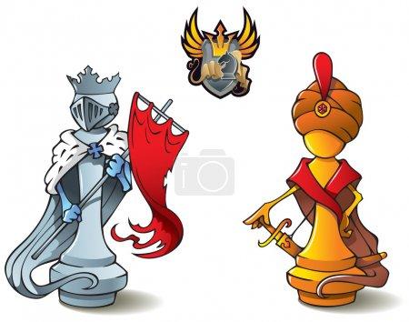 Chess set: Kings