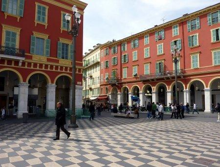 Massena place, Nice, France