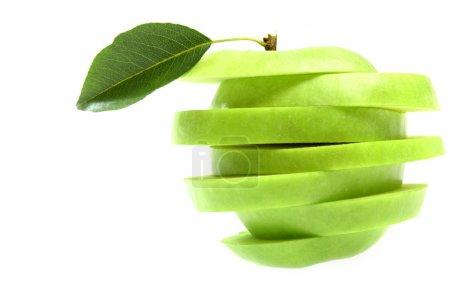 Ripe fresh green apple