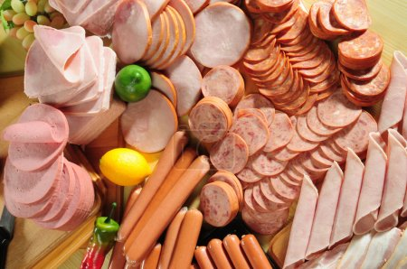 Photo for Variety of cured cold meat - Royalty Free Image