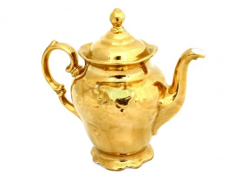Gilded pitcher