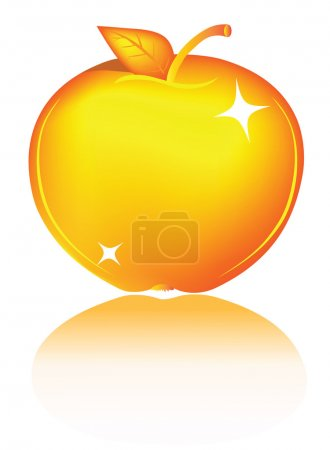 Photo for Golden apple - Royalty Free Image
