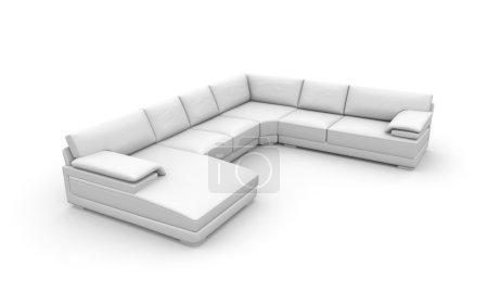 Konzeptionelles Sofa