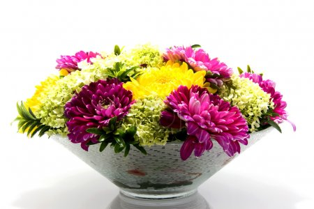 Flower arrangement with Dahlia