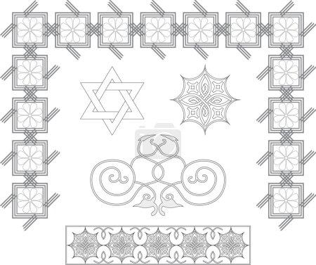 Tradicional Pattern vector