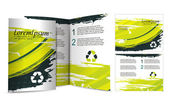 Brochure design for night club vector illustartion