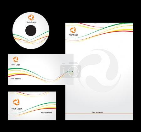 Letterhead Template design - vector