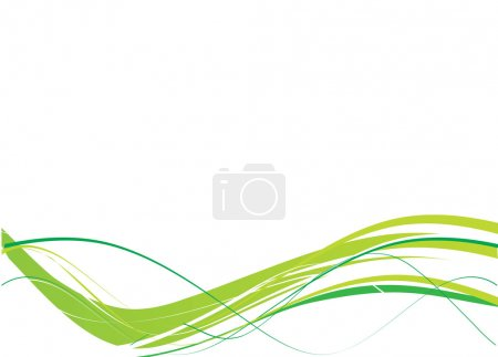 Illustration pour Des lignes abstraites. Vecteur - image libre de droit