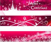Vánoční pozadí abstraktní, vektorové ilustrace