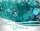 Beautiful vector illustration of chritsmas and new year of 2011