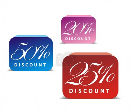 3d glossy sale icon