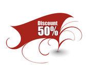 Discount card templates vector illustration