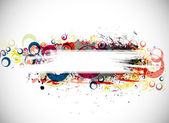 Abstract colorful banner background with space of your text eps10 Vector illustration