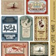 Vintage style label (eps 10.0 with grunge background)
