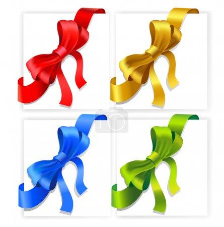 Vector bows.