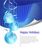 Christmas business greeting card