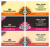 Business card set 47