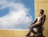 statue du poète