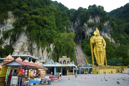 Batu caves temple, kuala lumpur, Malasia