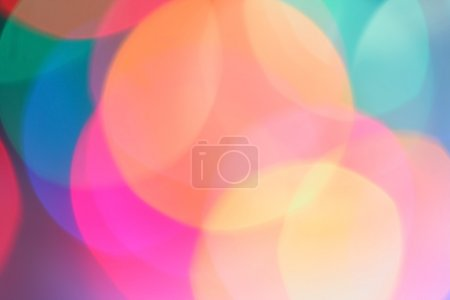Photo for Abstract colorful background of candlelights for Christmas - Royalty Free Image