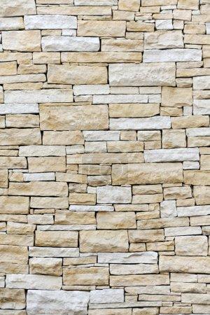 Photo pour Mur en briques de grès - image libre de droit