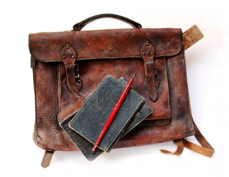 Vintage schoolbag
