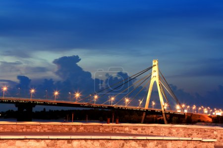 Мост в городе Киеве