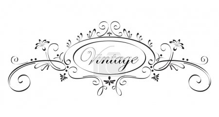 Illustration for Vintage frame - Royalty Free Image