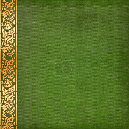 alter, grüner Grunge-Hintergrund