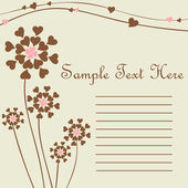 Wedding background or invitation card