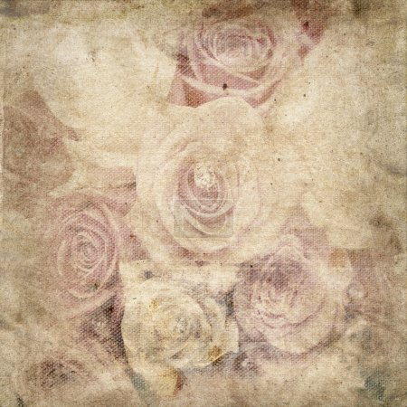 fond de fleurs romantique Vintage