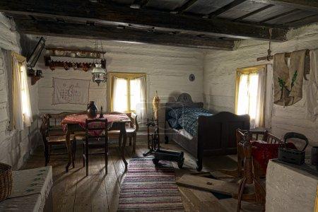 Old room in farmer's house