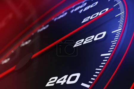 Photo for Speedometer up and close - Royalty Free Image