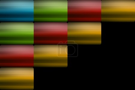 Photo for Blue, green, red and yellow squares. Abstract illustration - Royalty Free Image