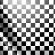 White and black checkered flag abstract background...