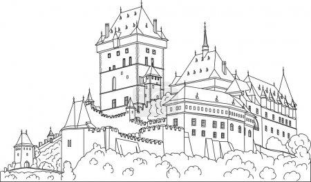 Gothic castle Karlstein