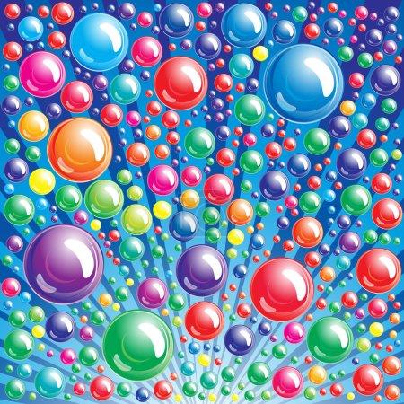 Illustration pour Fond bulle - une illustration pour votre projet de design - image libre de droit
