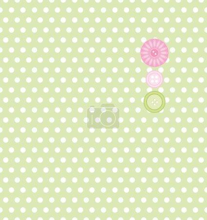 Illustration pour Fond sans couture. Collection- pour Mom.Motive de points . - image libre de droit